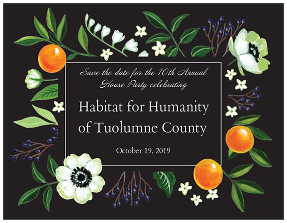 10th Annual House Party | Celebrating 20 Years in Tuolumne County