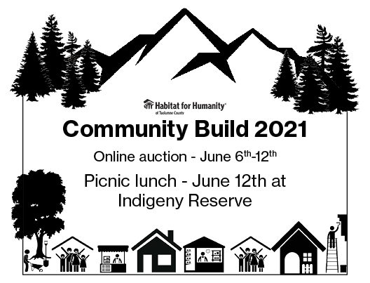 Community Build Auction and Picnic lunch